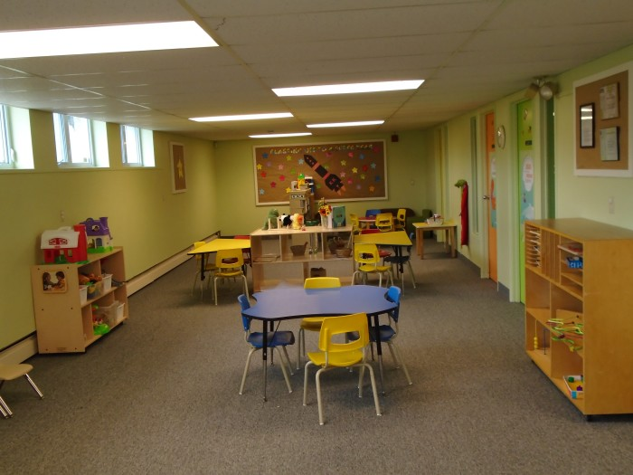 Wainfleet Preschool classroom